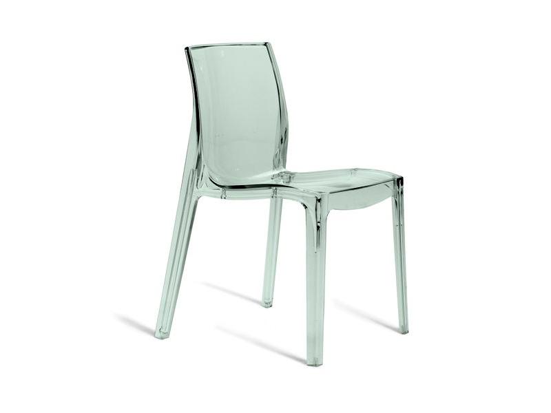 Cadeira Femme Fatale Transparente