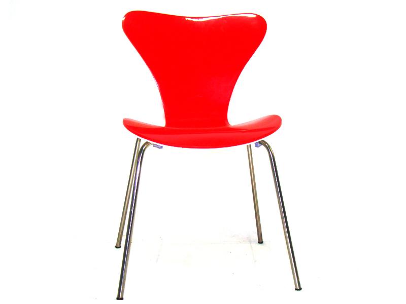 Cadeira Jacobsen Bicolor Acrílica