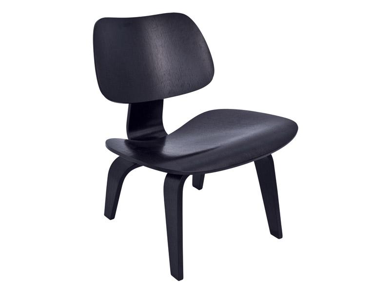 Cadeira Charles Eames Preta - Modelo LCW