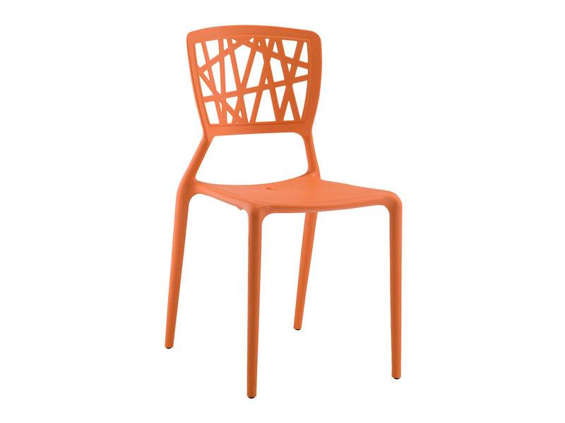 Cadeira Melissa - Laranja