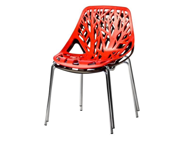 Cadeira Natural - empilhadas