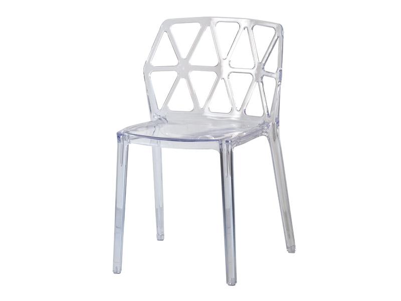 Cadeira Parma - Transparente