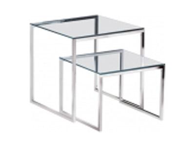 Mesa lateral Dezz vidro
