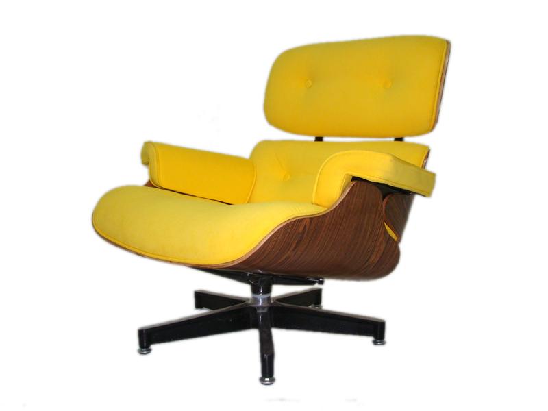 Poltrona Charles Eames Amarela