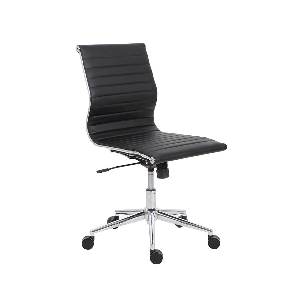 Cadeira Sevilha baixa sem braço office